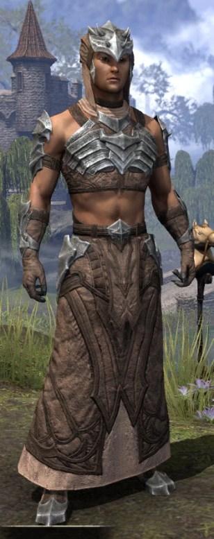 Waking Flame Homespun - Male Robe Front