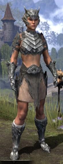 Waking Flame Iron - Female Front