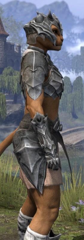 Waking Flame Iron - Khajiit Female Close Side