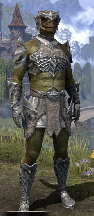 Waking Flame Rawhide - Argonian Male Front