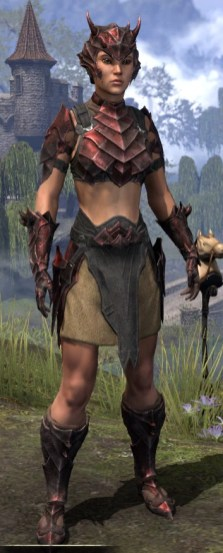 Waking Flame Rubedite - Female Front