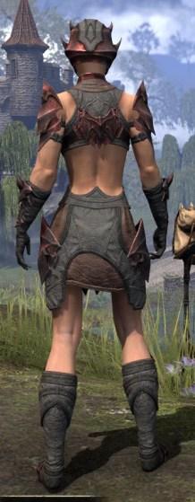 Waking Flame Rubedo Leather - Female Rear