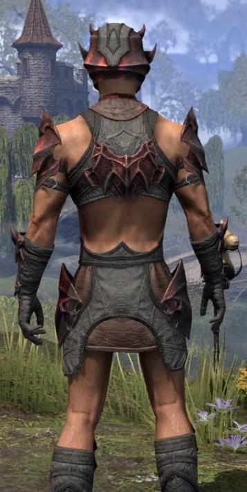 Waking Flame Rubedo Leather - Male Close Rear
