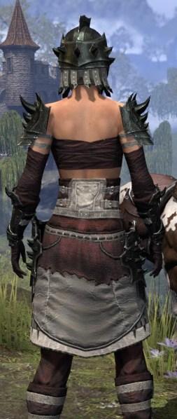 Crimson Oath Heavy - Female Close Rear