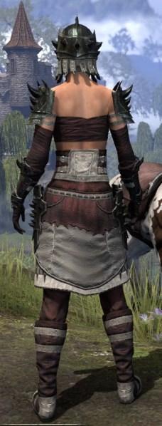 Crimson Oath Heavy - Female Rear