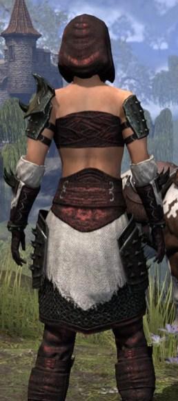 Crimson Oath Medium - Female Close Rear