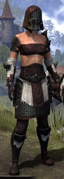 Crimson Oath Medium - Female Front