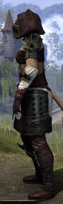Crimson Oath Medium - Khajiit Female Side