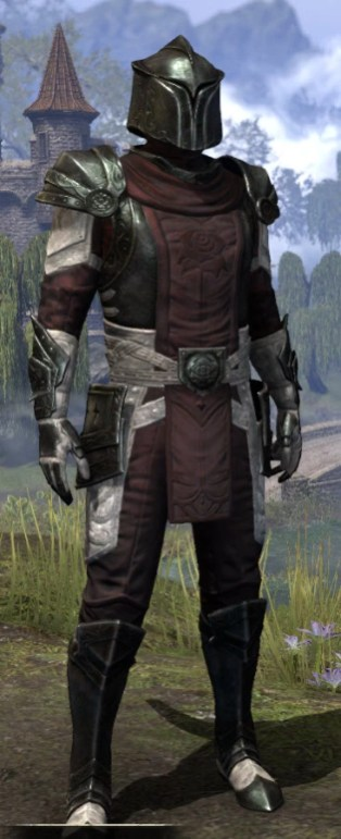 Silver Rose Heavy - Argonian Male Front