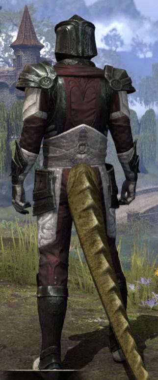 Silver Rose Heavy - Argonian Male Rear
