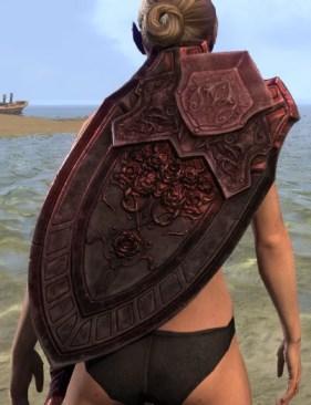 Silver Rose Shield 1
