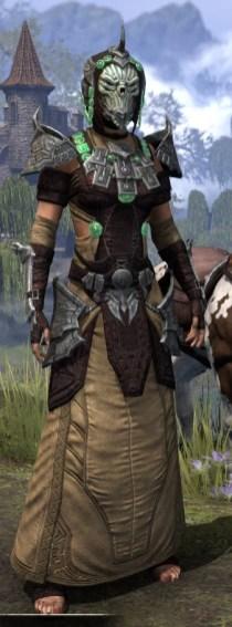 Sul-Xan Ancestor Silk - Female Robe Front