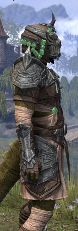 Sul Xan Homespun - Argonian Male Shirt Close Side
