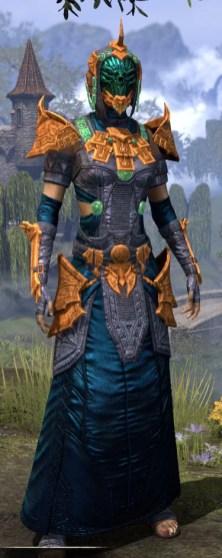 Sul Xan Homespun - Dyed Robe Front