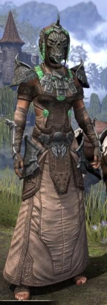 Sul Xan Homespun - Female Robe Front