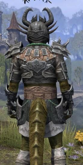 Sul Xan Iron - Argonian Male Close Rear