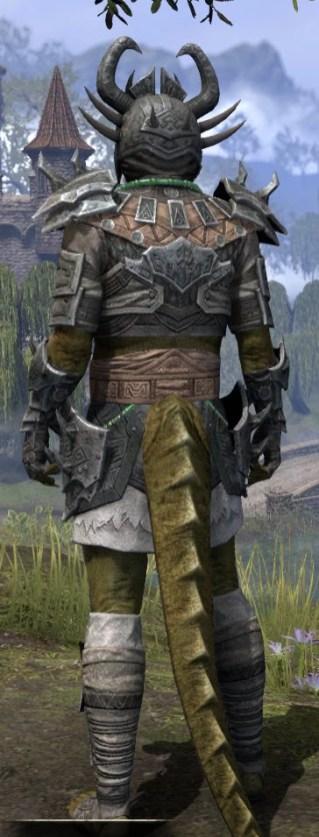Sul Xan Iron - Argonian Male Rear