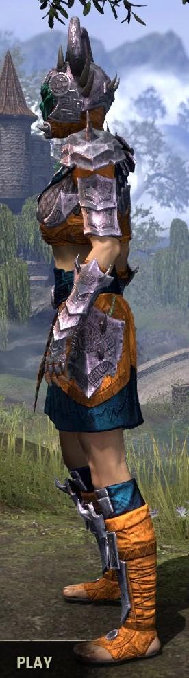 Sul Xan Iron - Dyed Side