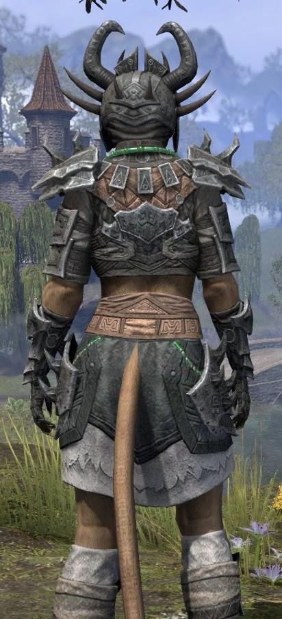 Sul Xan Iron - Khajiit Female Close Rear