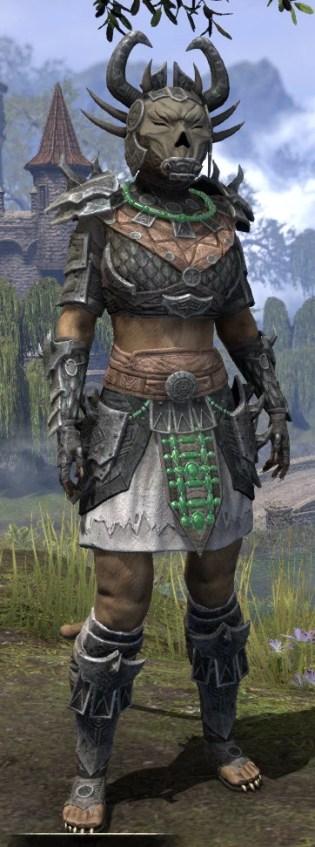 Sul Xan Iron - Khajiit Female Front