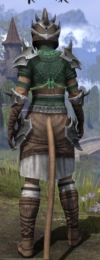 Sul-Xan Rawhide - Khajiit Female Rear