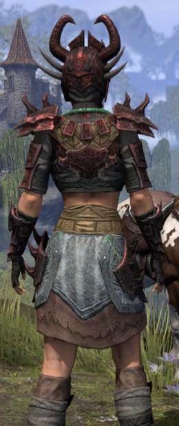 Sul-Xan Rubedite - Female Close Rear