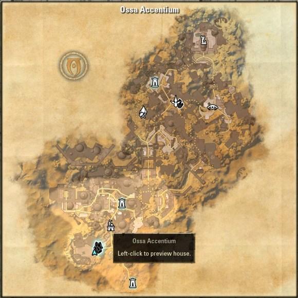 Ossa Accentium Map 1