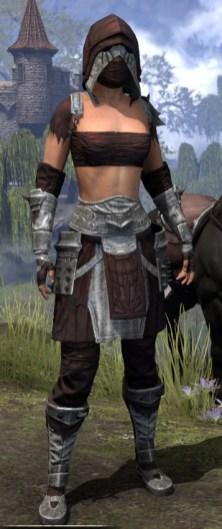 Crimson Oath Ancestor Silk - Female Shirt Front