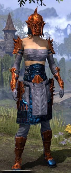 Crimson Oath Iron - Dyed Front