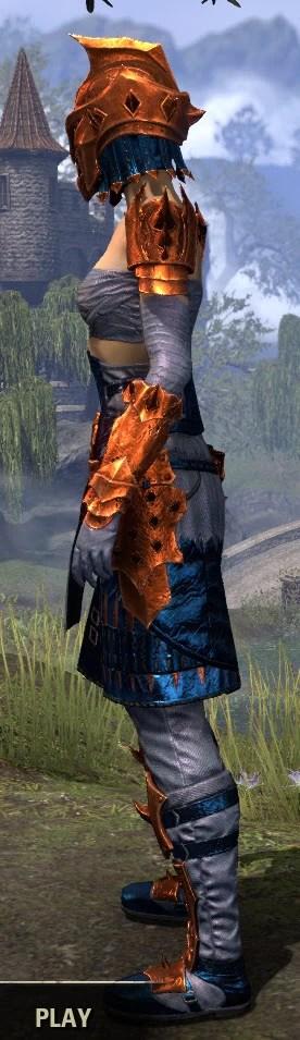 Crimson Oath Iron - Dyed Side