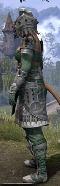 Crimson Oath Iron - Khajiit Female Side