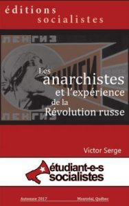 Les anarchistes et l'expérience de la Révolution russe