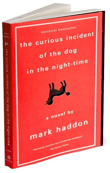 Image result for curious incident of the dog in the nighttime book