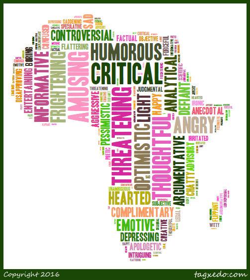 words Africa