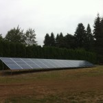 home solar array