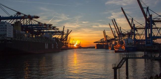 Les grues portuaires