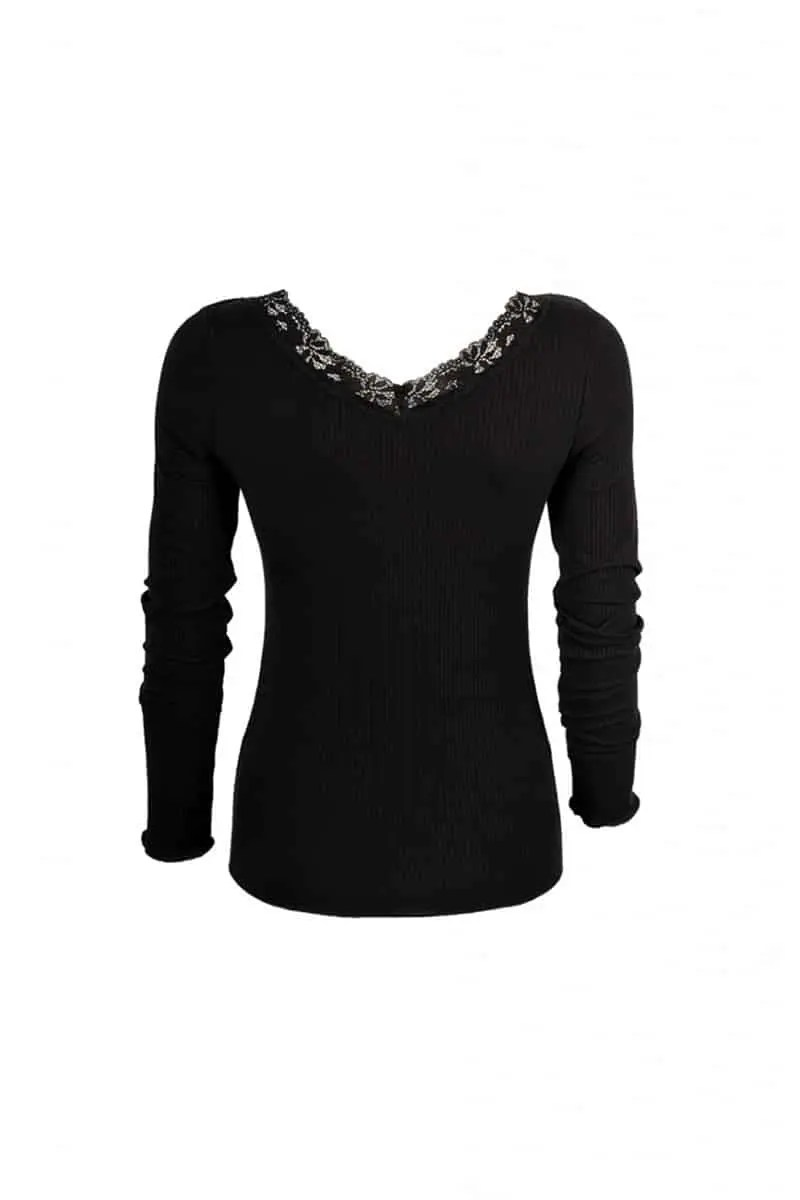 Women's Blouse with Dolly Lace -
