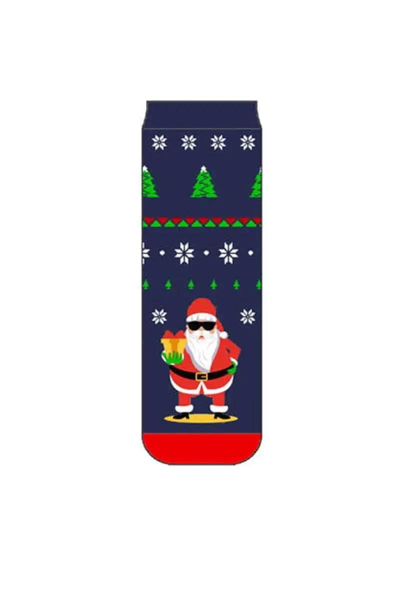 Καλτσοπαντόφλες Ανδρικές Santa Claus -