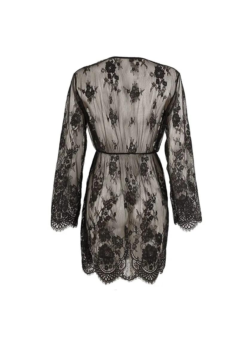 Women's Nightwear with Flaviana Lace -