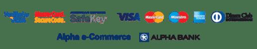 Πληρωμή με πιστωτική/χρεωστική κάρτα