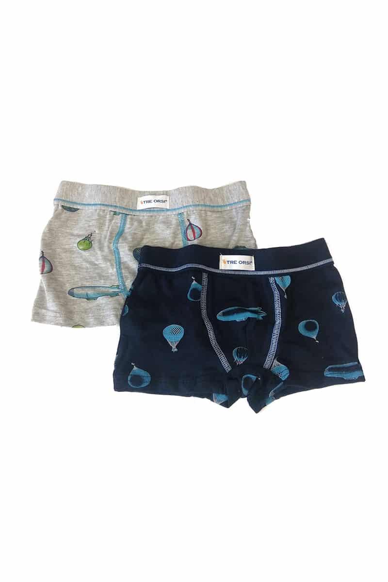 Kids Boxer For Boy Tre Orsi Art-84 (2 Pack) -