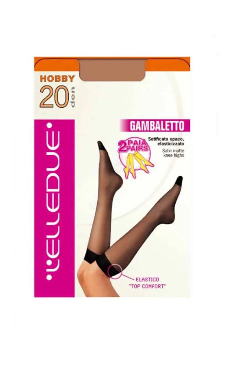 Knee Socks Elledue Hobby 20 Den (2 Pairs) -