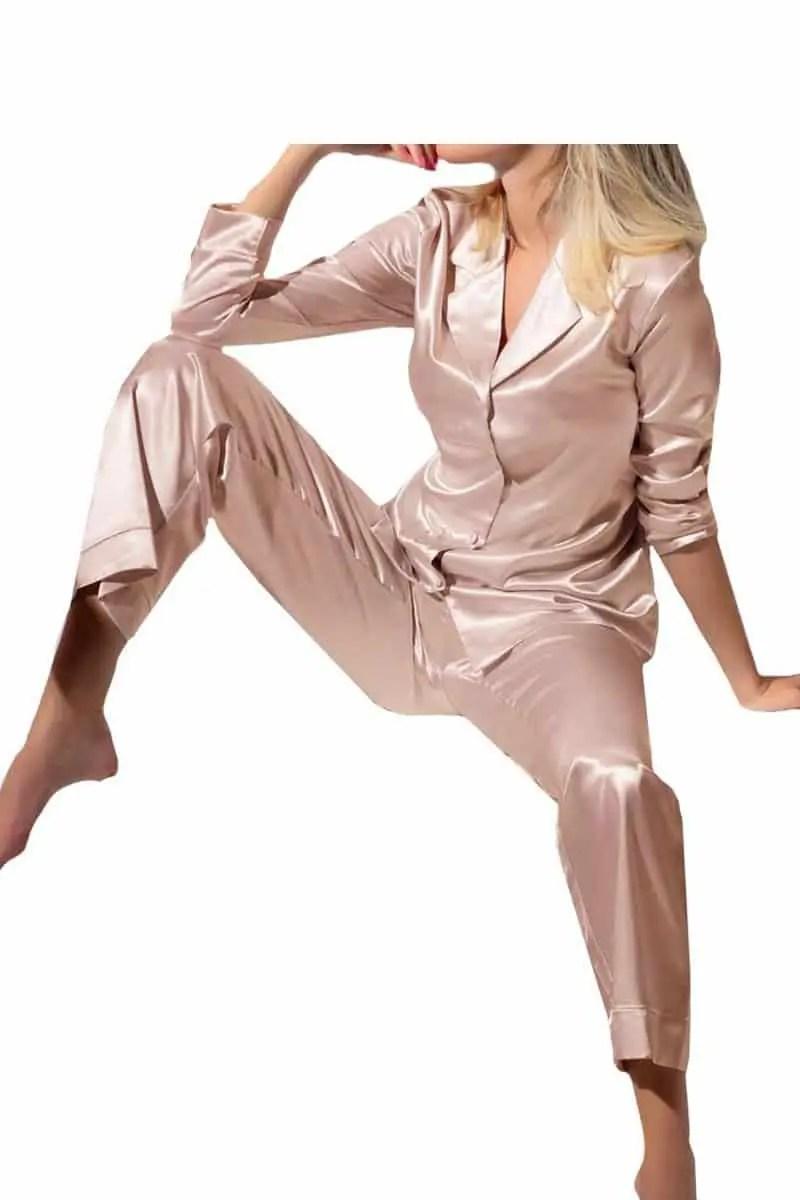 Women's Pajamas Saten Love And Bra 32098 -