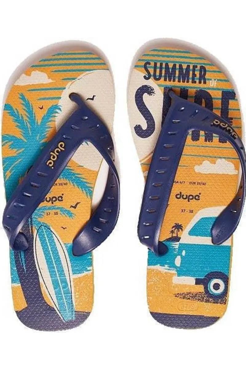 Men's Flip Flops Dupe Surf Pro Flip Flops 4144678-7609 -