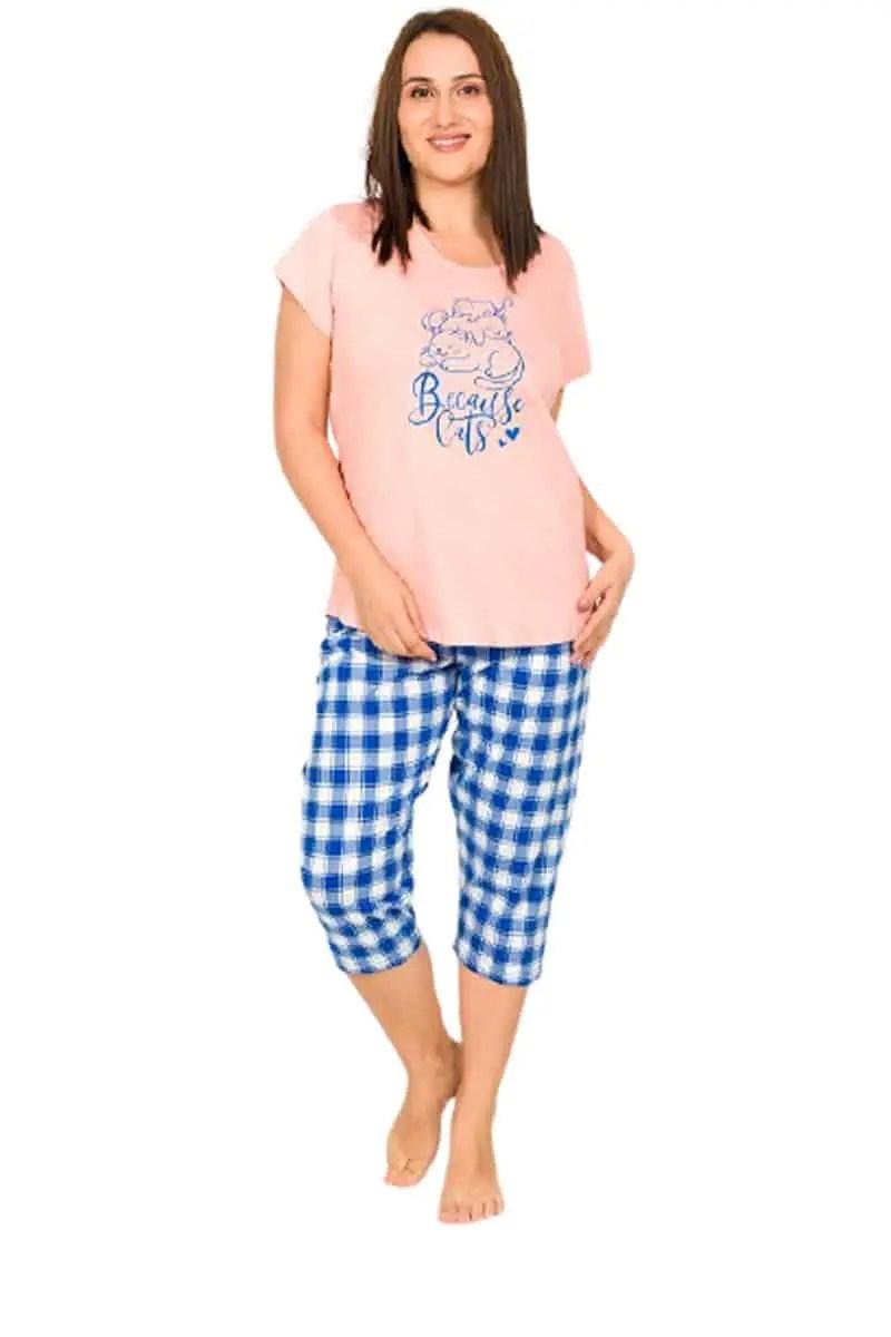 Women's Summer Pajamas 80992387 Large Number -