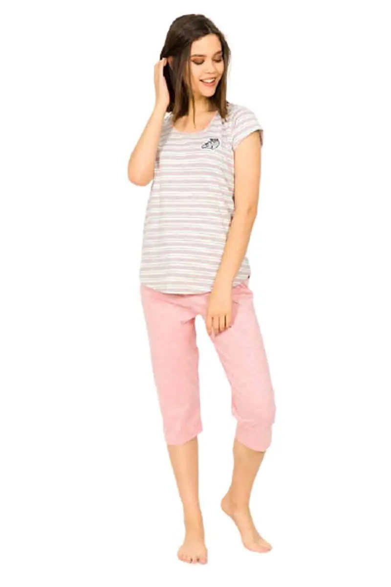 Women's Summer Pajamas 90420000 Light Pink -