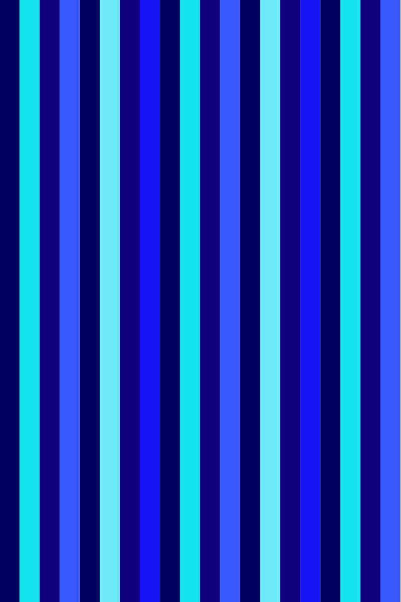 Beach Towel Bayadere 75x150cm Blue - Le Comptoir De La Plage