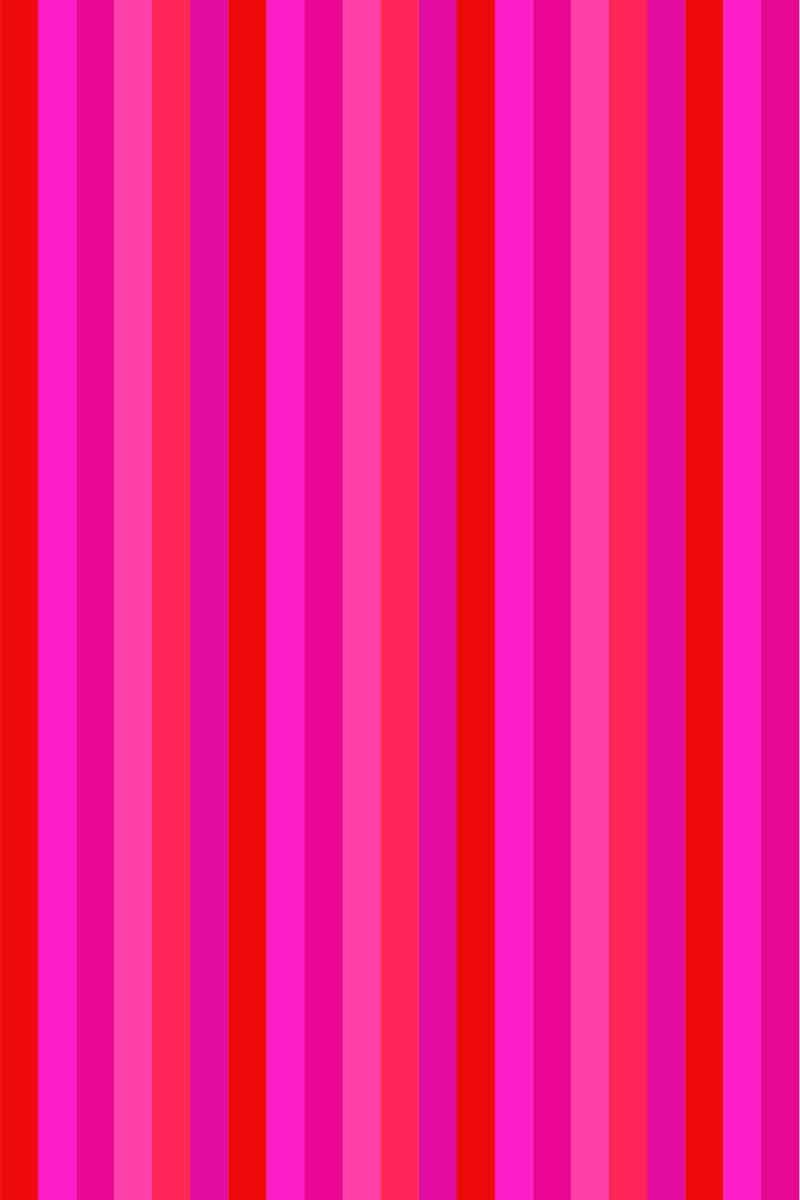 Beach Towel Bayadere 75x150cm Pink - Le Comptoir De La Plage