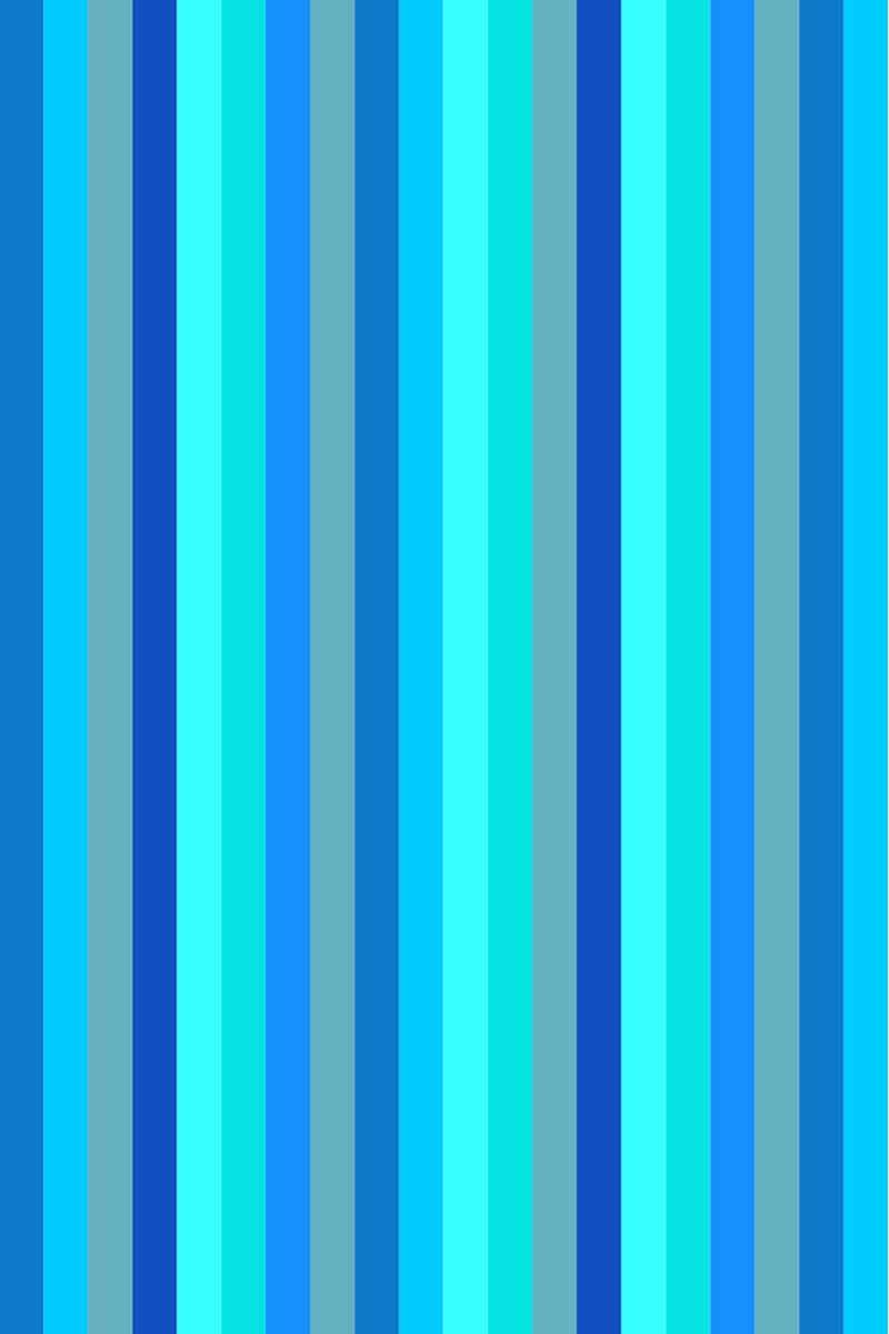 Beach Towel Bayadere 75x150cm Light Blue - Le Comptoir De La Plage
