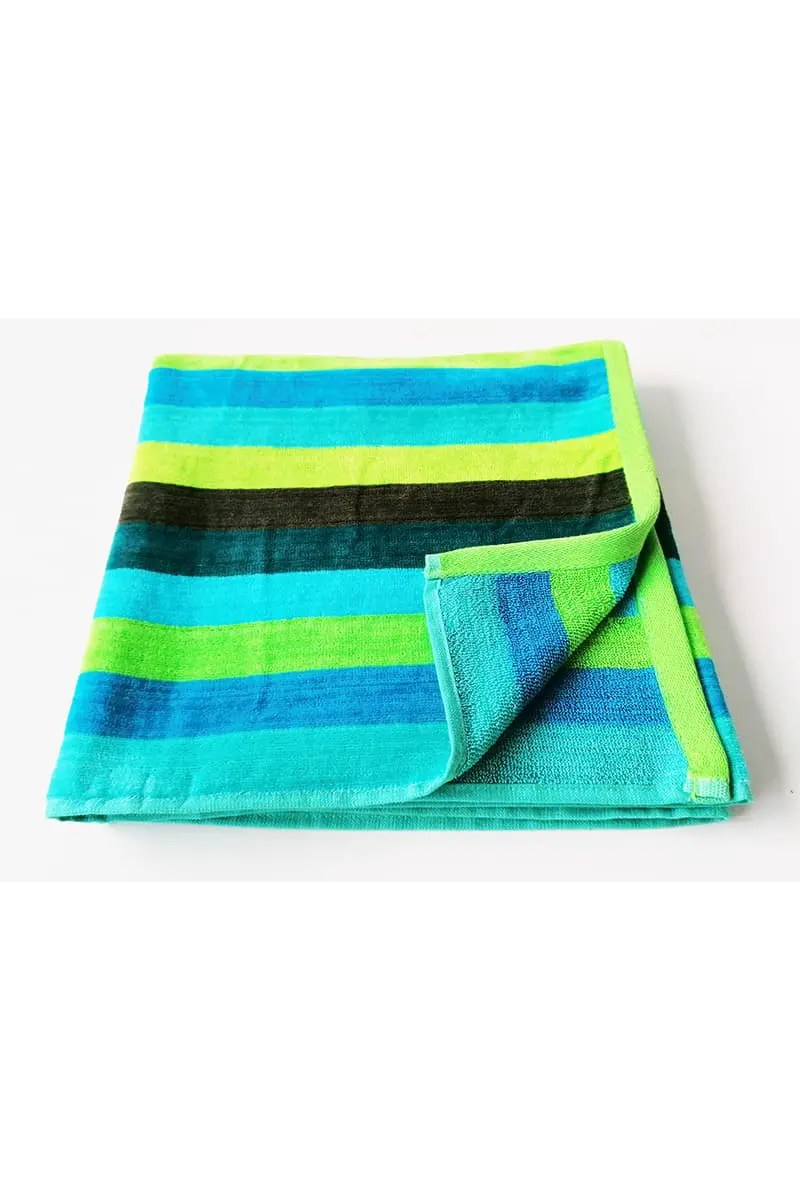 Beach Towel Stripes 100% Cotton -